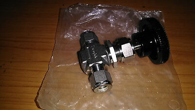 "Swagelok SS-1VS6, 3/8"" needle valve ,several availiable"