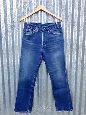 Vintage Levis 509 Straight Stretch Faded Blue Jeans USA LVC 505 501 Size 32 x 31