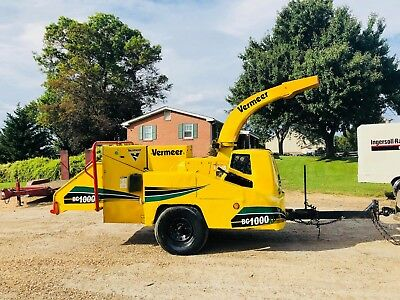 Vermeer Bc1000Xl Wood Chipper Diesel Cummins Drum Mulcher Bob Cat Grinder Mobile