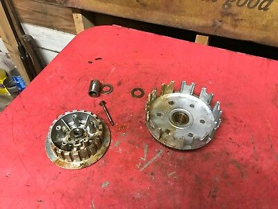 1976 Yamaha YZ125 Engine Clutch Basket    YZ 125 C