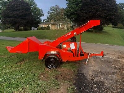 Woodchuck Wc-126 Wood Chipper Drum Whsper Chipper Bob Cat Industrial