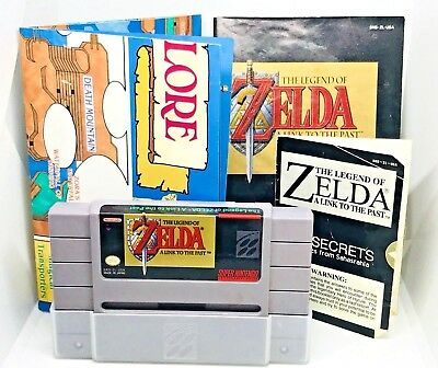 The Legend of Zelda A Link to the Past Super Nintendo Video Game