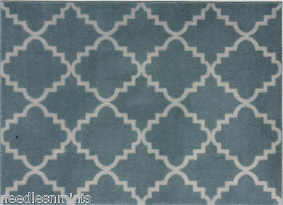 """1:24 Scale Area Rug approximately  3 7/8"""" x 5 3/8"""" - 0000738"""