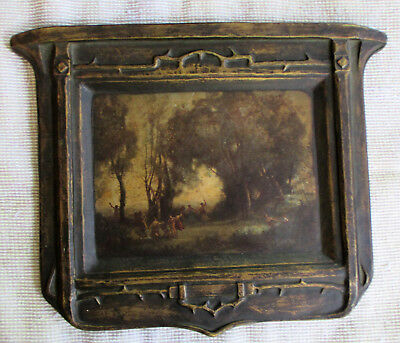 Gesso Chateau Plaques Dance of the Nymphs by Corot B323