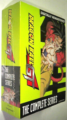 Dragon Ball GT The Complete Series DVD Season 1 & 2 + Movie BRAND NEW