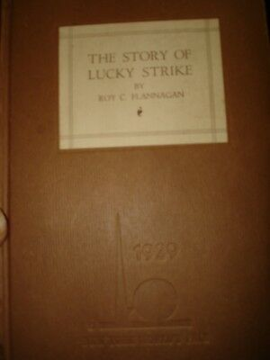 THE STORY OF LUCKY STRIKE 1938 NEW YORK WORLDS FAIR>92 pages<illustrations
