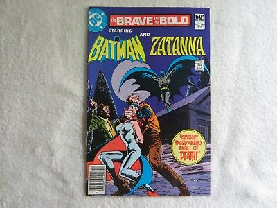 The Brave and the Bold Comic #169 December 1980 Starring Batman and Zatanna