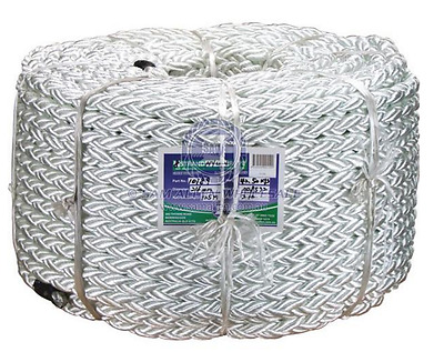 Marine Rope 40mm 8 Strand Nylon Boat, Yacht Rope 220m x 8 Strand Anchor Rope