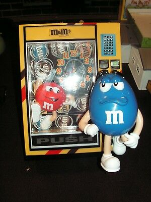 M&M Collectible Bank with Clock