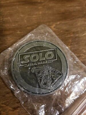 Disney Store Exclusive 2018 Series A Star Wars Story: Solo Coin #1!!!