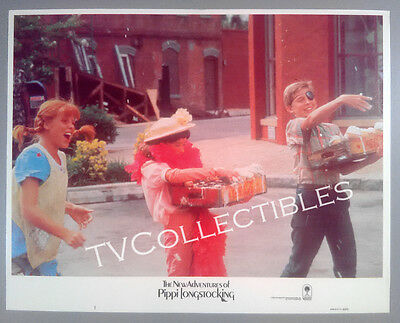 Lobby Card~ NEW ADVENTURES OF PIPPI LONGSTOCKING ~1988 ~Tami Erin ~David Seaman