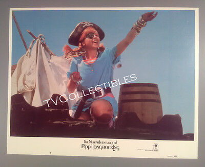 11x14 Lobby Card~ NEW ADVENTURES OF PIPPI LONGSTOCKING ~1988 ~Tami Erin ~Pirate