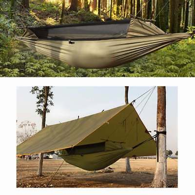 FREE SOLDIER AI0066 Multifunctional Portable Camping Tent Hammock Dual Zippers