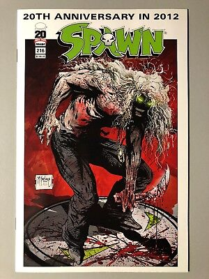SPAWN #216 First Appearance Of The Freak NM