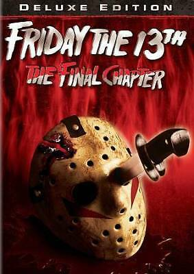 Friday the 13th - Part 4: The Final Chapter - Crispin Glover, Kimberly Beck NEW