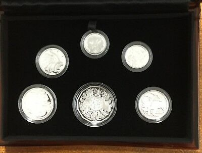 2017 fine Silver proof year set