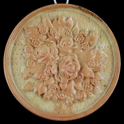 Carved Flower Bouquet Bead C EJ511022