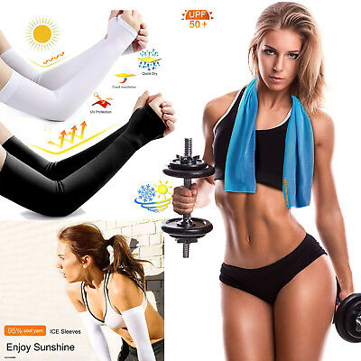 For Sports,Golf, Basketball, Cycling,UV Protection Cooling Sleeves Women Man Kid