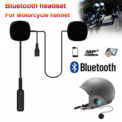 Hot Motorcycle Helmet Headsets Wireless Bluetooth 4.2+EDR Headphones Intercom