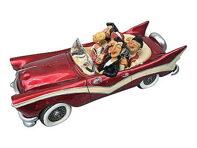 The Fabulous Fifties Sculpture ~ Guillermo Forchino Hand Made Detailed & Painted