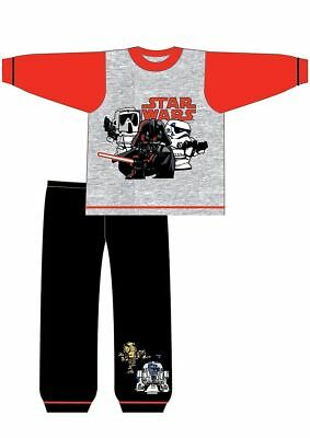 Star Wars Snuggle Pyjamas Set Top & Bottoms Pjs Toddler Pajamas Sizes 1 - 5 Year