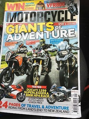 Motor Cycle Sports And Leisure  No 684 Septembet 2017