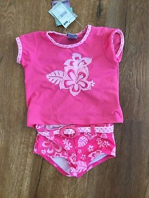 Pumpkin Patch Girls Bathers Tankini Size 12-18mths NEW