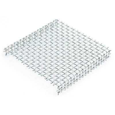 Cooksongold Stainless Steel Enamelling Kiln Firing Woven Mesh Rack, 50/75/100mm