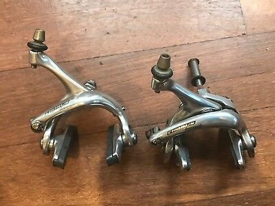 Campagnolo Chorus brake calipers. Front & Rear. Good working order.