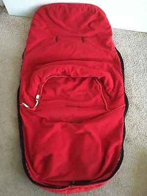 Bugaboo Red Cosytoes Seat Liner - Clean