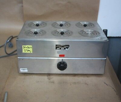 LABEC Laboratory EQUIPMENT Lab WATER Bath 6 hole position 250V 150W Heat element