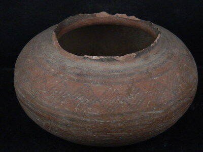 Ancient Large Size Teracotta Painted Pot Indus Valley 2500 BC NO RESERVE #Ik515