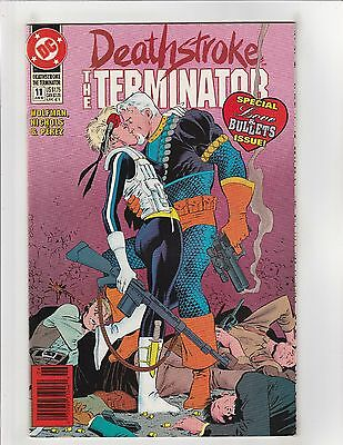 Deathstroke the Terminator (1991) #11 VF/NM 9.0 DC Comics Vigilante app.