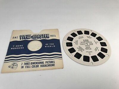 Vintage 1951 Viewmaster Canadian National Exhibition Toronto Canada (SP-9068)