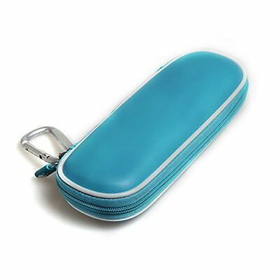 Hard Eva Protective Travel Case Carrying Blue For Schick Hydro Silk Trimstyle...