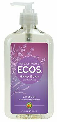 Earth Friendly Products Hand Soap, Lavender, 17Ounce Bottle (Pack of 6)
