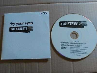 Promo Cd Single The Streets - Dry Your Eyes - Europe 2004 Vg+ 3 Track