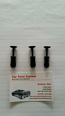 Ford Sierra Rs Cosworth Sapphire Scuttle Panel Clip Set 3 New Genuine Ford