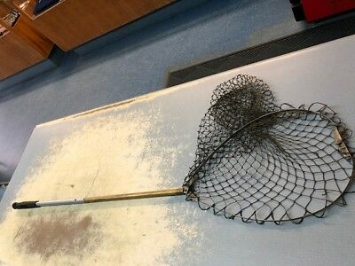 Vintage Telescoping Fishing Net Perfect for Display
