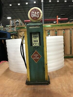Vintage Premium Gas Pump/old Antique