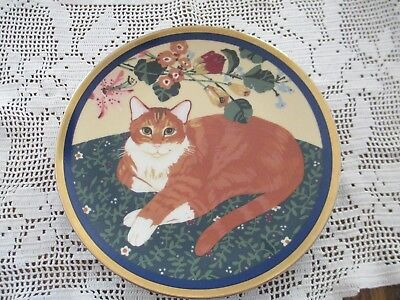 Collectible Cat Display/Hanging Plate