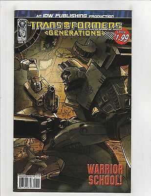 Transformers Generations (2006) #1 NM- 9.2 Cover B IDW Reprints Marvel Comics #7