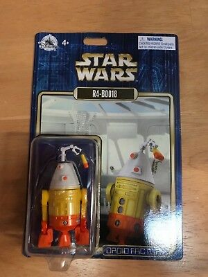 Disney Parks Star Wars Droid Factory R4-BOO18 Astromech Droid Holiday