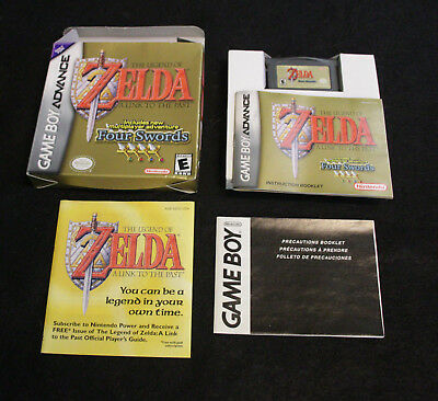 Legend of Zelda: A Link to the Past (Nintendo Game Boy Advance, 2002) BOX ETC