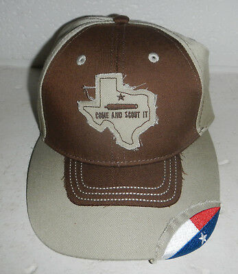 NEW Come and Scout It Texas Boy Scouts of America BSA Baseball Hat Cap