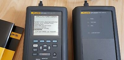 Fluke DSP-2000 Cable Analyzer