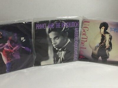 Prince Lot Of 3 45 RPM Hot Thing You Got The Look Antherloverholenyohead