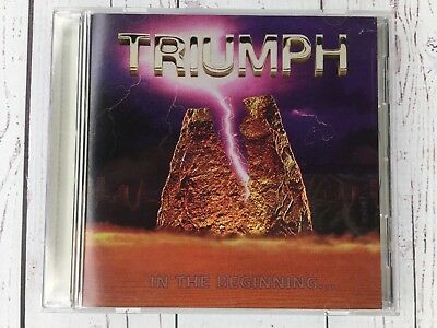 Triumph In The Beginning CD 1976 TRC Records Like New