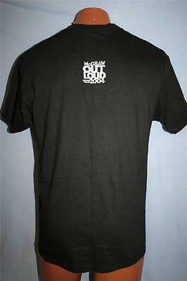 TIM MCGRAW 2004 Out Loud Summer Concert Tour CREW ONLY T-SHIRT Medium COUNTRY