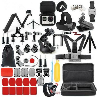 Accessories set for Gopro go pro hero 6 5 Session 4 3 SJCAM/Xiaomi yi Kit Mount